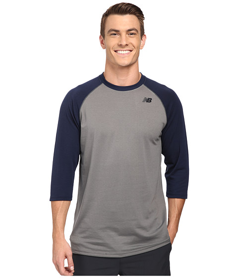 New Balance - 3/4 Raglan (Team Navy) Men
