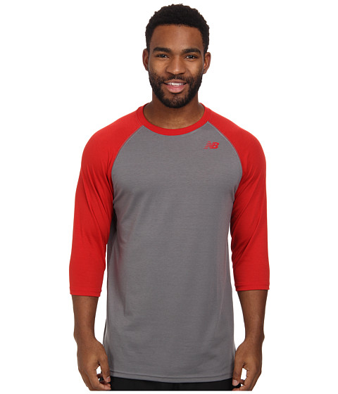 New Balance - 3/4 Raglan (Team Red) Men