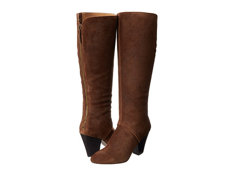 Shop Nine West online and buy Nine West Dude Dark Brown Suede Womens Boots shoes online