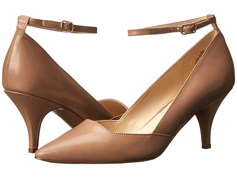 Nine West - Eggy (Taupe Leather) High Heels