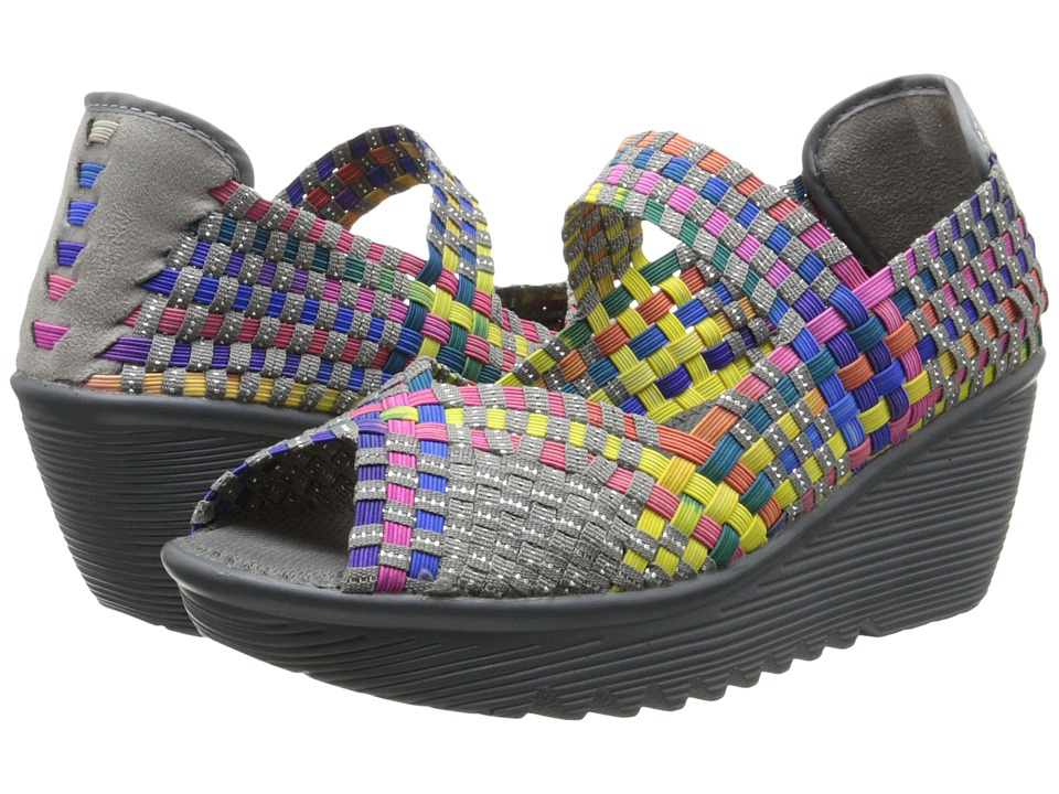 bernie mev. - Halle (Multi) Women's Wedge Shoes