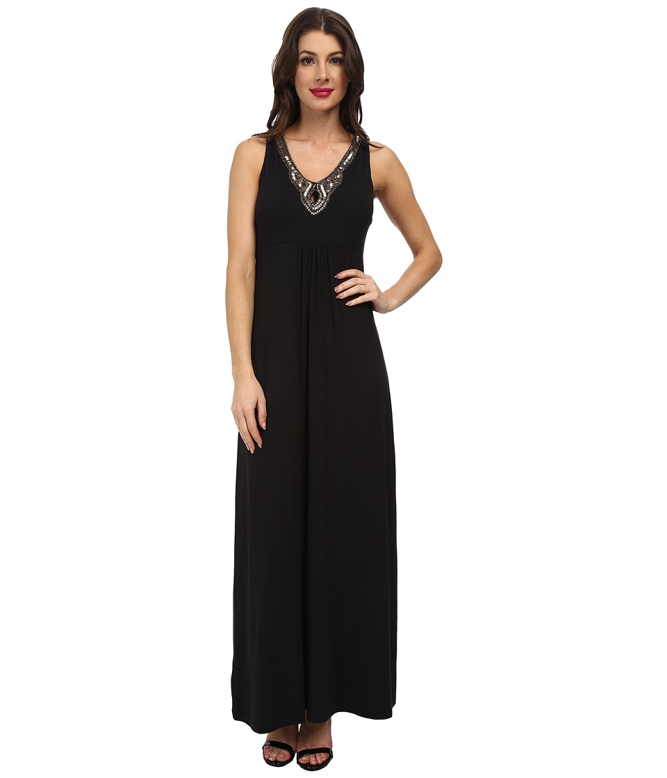 Tommy Bahama - Gower Jersey Keyhole Dress (Black) Women