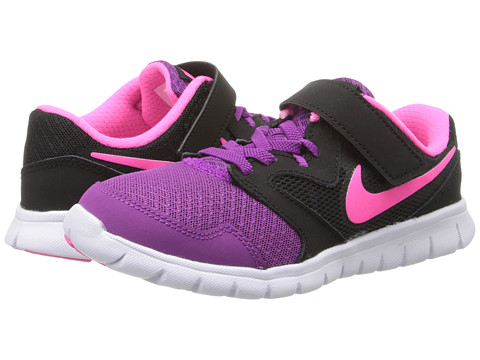 Nike Kids - Flex Experience 3 (Little Kid) (Bold Berry/Black/White/Pink Pow) Girls Shoes
