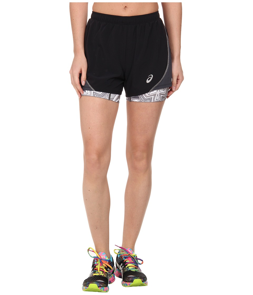 ASICS - Lite-Show Versatility Short (Black/Steel) Women's Workout