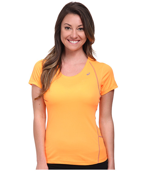 ASICS - Lite-Show Favorite Short Sleeve (Fizzy Peach) Women's T Shirt