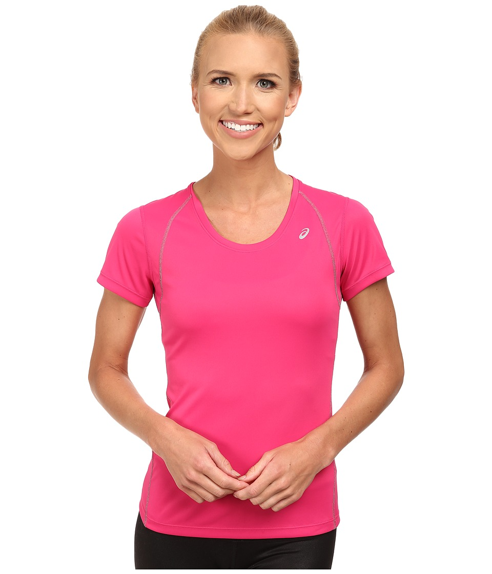 ASICS - Lite-Show Favorite Short Sleeve (Ultra Pink) Women's T Shirt