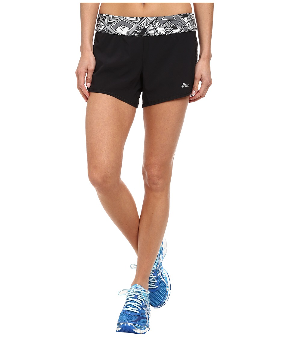 ASICS - Everysport Short (Black/Geo Black) Women's Workout