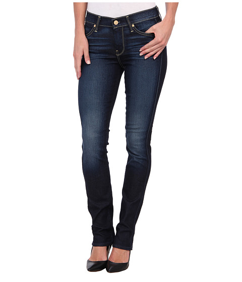 7 For All Mankind - The Modern Straight in Riche Touch Medium Dark (Riche Touch Medium Dark) Women