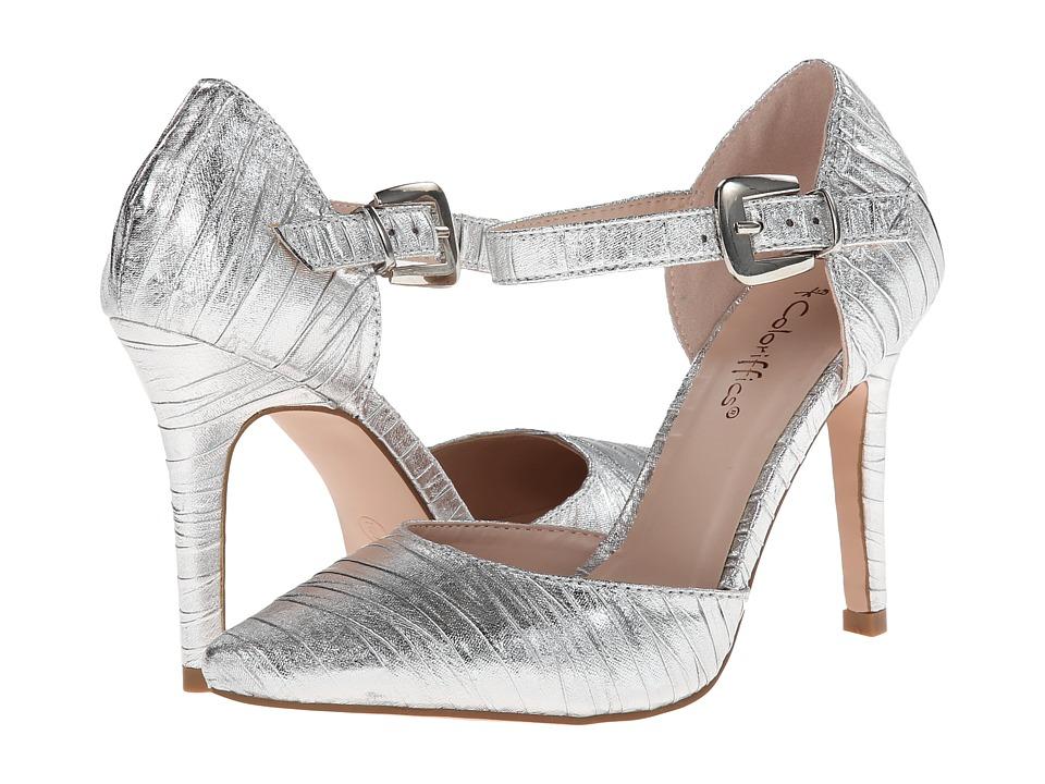 Coloriffics - Elana (Silver) High Heels