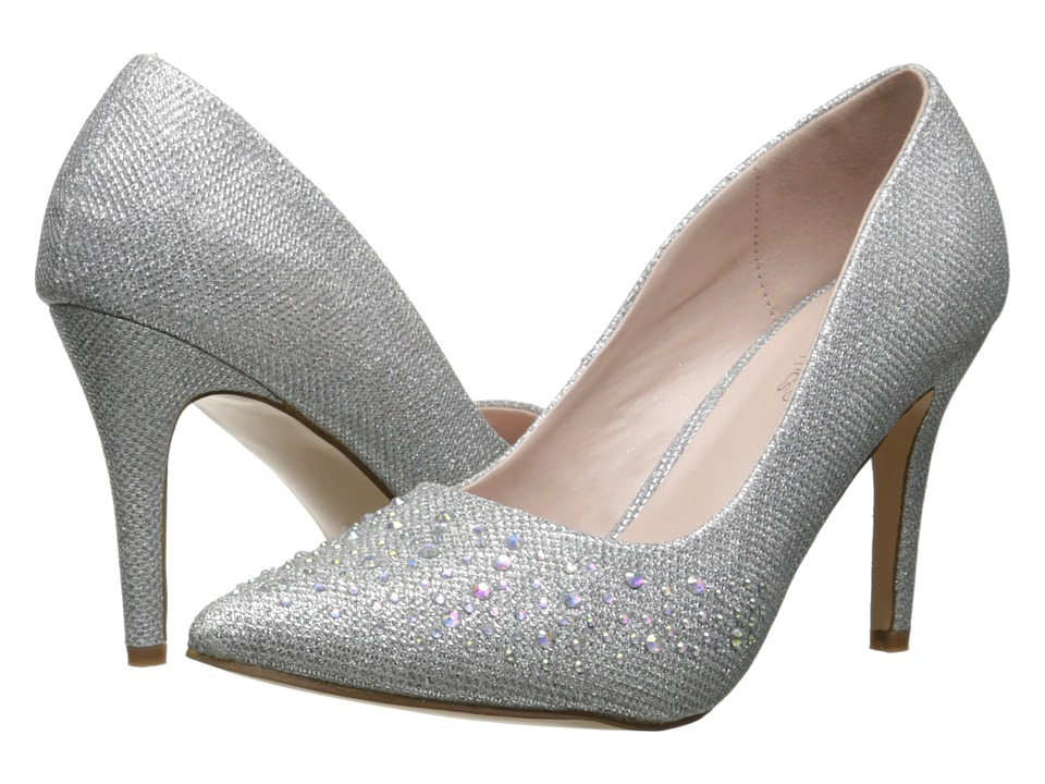 Coloriffics - Jane (Silver) High Heels