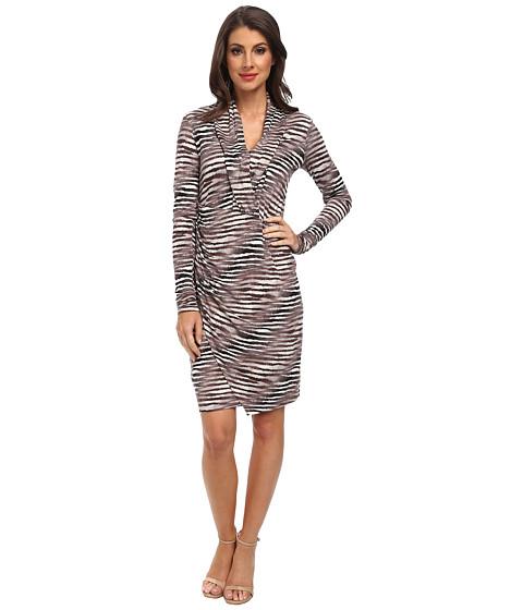 Tommy Bahama - Tiger Tide L/S Dress (Mink) Women's Dress