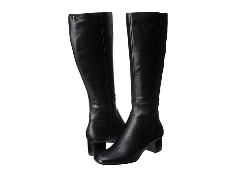 Nine West - Facts (Black Leather) Women's Boots