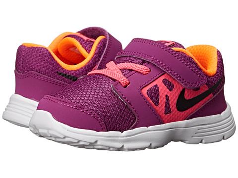 Nike Kids - Downshifter 6 (Infant/Toddler) (Bold Berry/Pink Pow/Total Orange/Black) Girls Shoes
