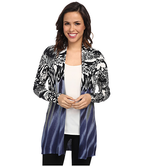NIC+ZOE - Mineral Washed Cardy (Multi) Women