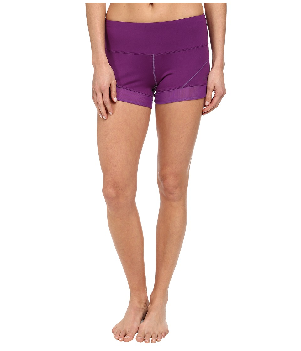 ASICS - Fit-Sanatm Booty Short (Purple Magic) Women's Shorts