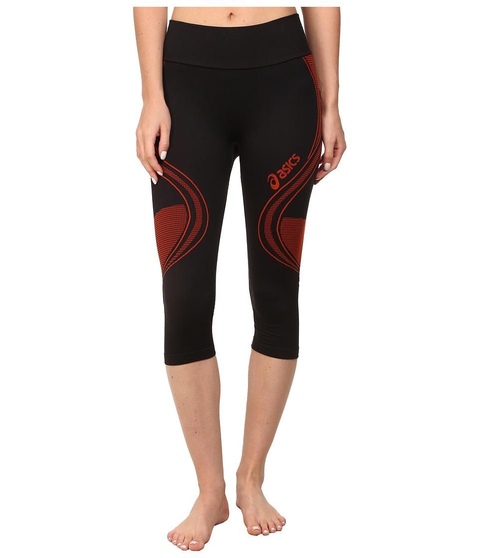 ASICS - Fit-Sana Seamless Capri (Cherry Tomato) Women's Workout