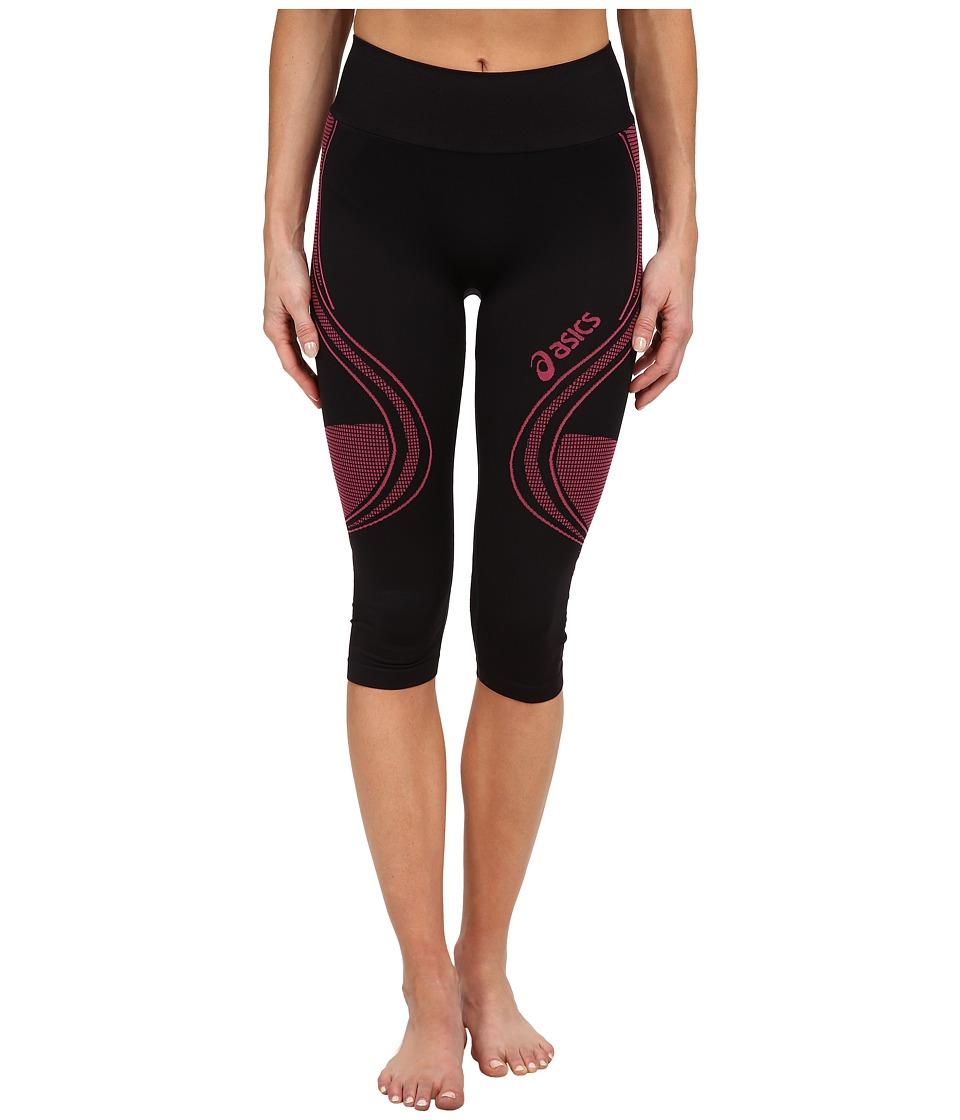 ASICS - Fit-Sana Seamless Capri (Ultra Pink) Women's Workout