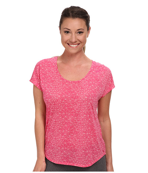 ASICS - Fit-Sana Graphic Tee (Ultra Pink) Women