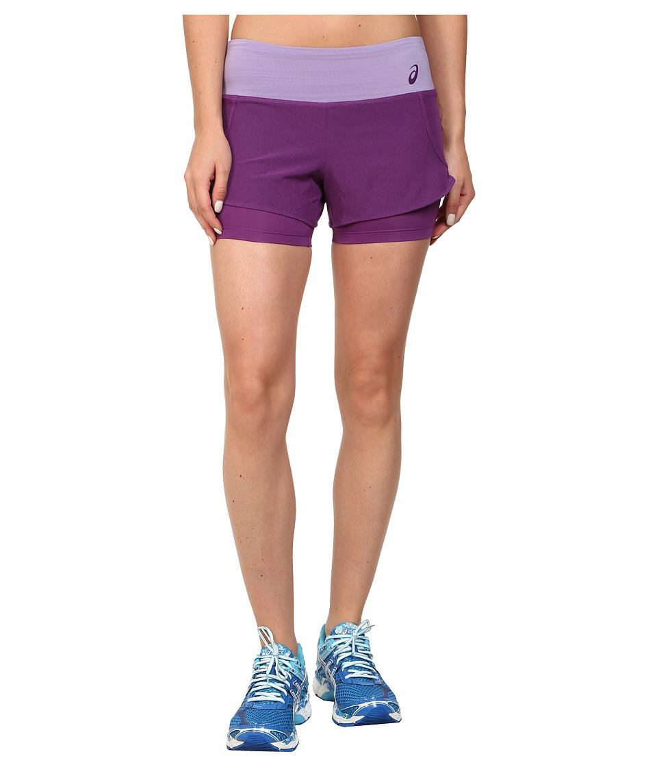ASICS - Fit-Sana 2-N-1 Short (Purple Magic) Women's Workout