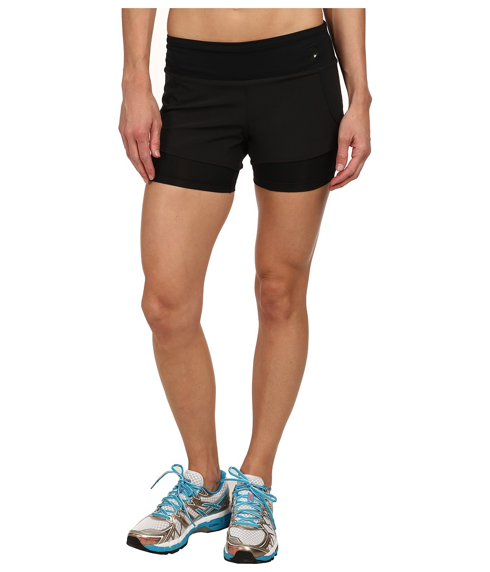 ASICS - Fit-Sana 2-N-1 Short (Performance Black) Women's Workout