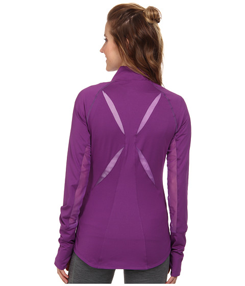 ASICS - Fit-Sana Full Zip Jacket (Purple Magic) Women's Workout