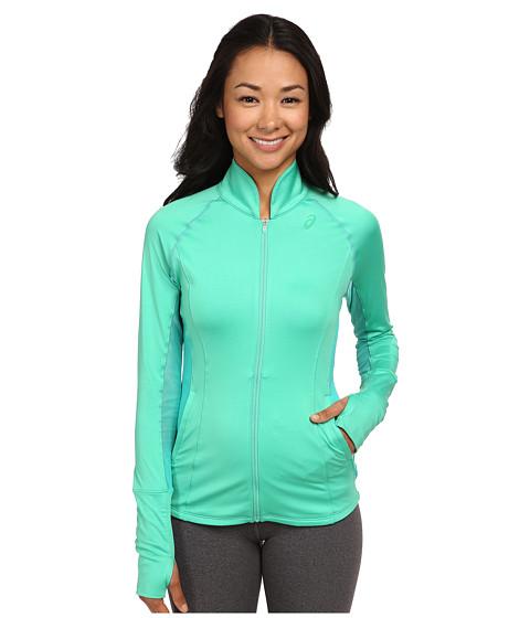 ASICS - Fit-Sana Full Zip Jacket (Cool Mint) Women's Workout