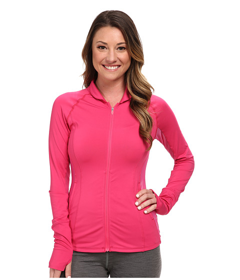 ASICS - Fit-Sana Full Zip Jacket (Ultra Pink) Women