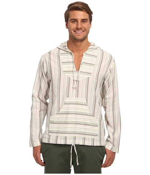 Mr.Turk - Indio Jacquard Stripe Jake Hoodie (Multi) Men