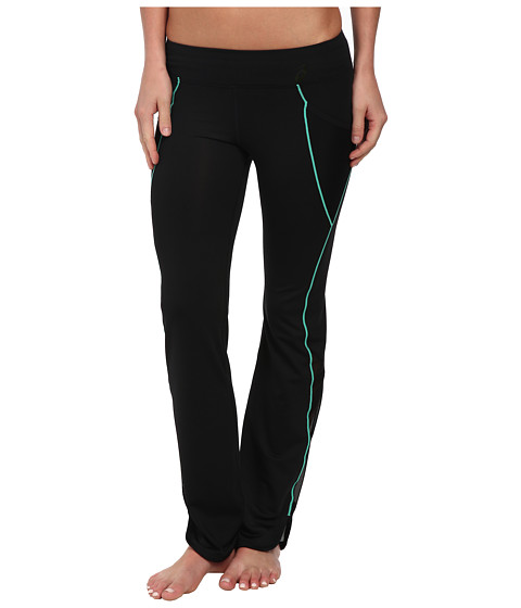 ASICS - Fit-Sana Scalloped Pant (Cool Mint) Women's Workout