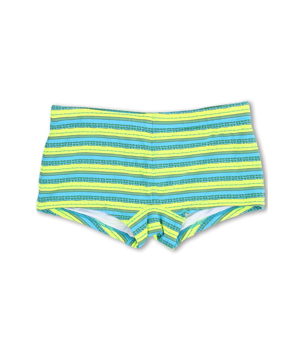 Mr.Turk - Neon Desert Stripe Knit Sorrento Trunk (Margarita) Men