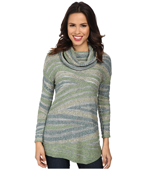 NIC+ZOE - Stone Wave Top (Verde Mix) Women