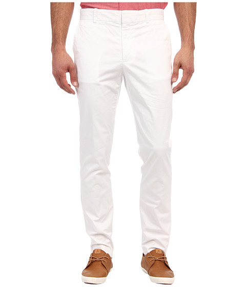 Mr.Turk - Summer Twill Nate Slim Trouser (White) Men's Casual Pants