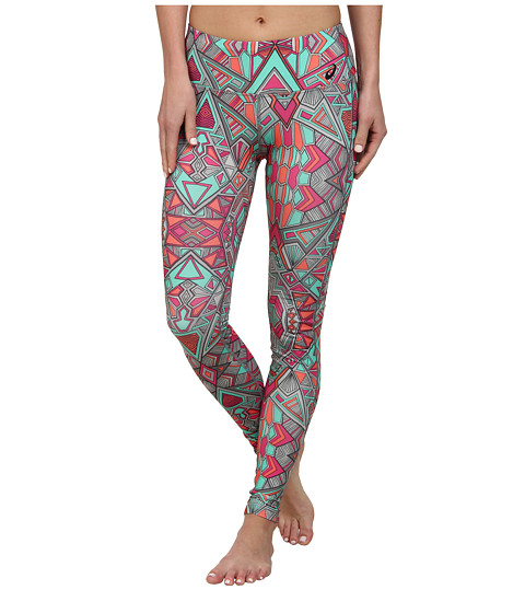 ASICS - Cleo Pop Barre Tights (Geotribal Print) Women