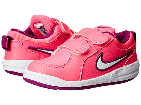 Nike Kids - Pico 4 (Infant/Toddler) (Pink Pow/Bold Berry/White) Girls Shoes