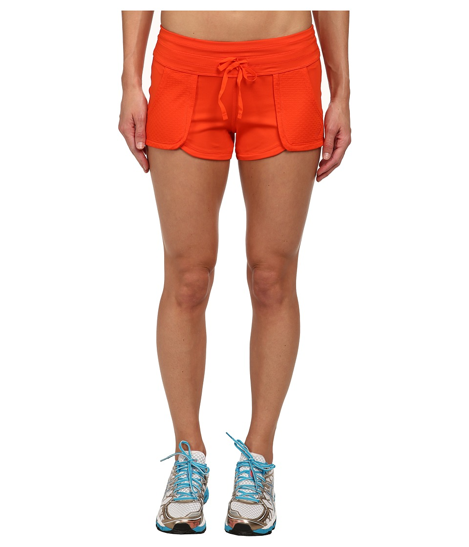 ASICS - Flextm Short (Cherry Tomato) Women's Shorts