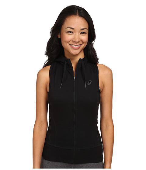ASICS - Racerback Hoodie (Performance Black) Women's Workout