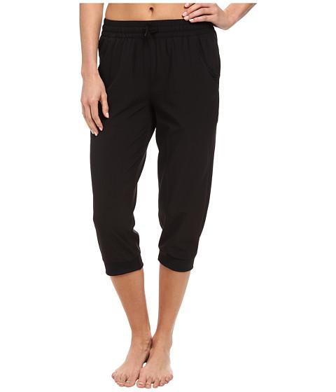 ASICS - Styled Woven Capri (Performance Black) Women's Workout