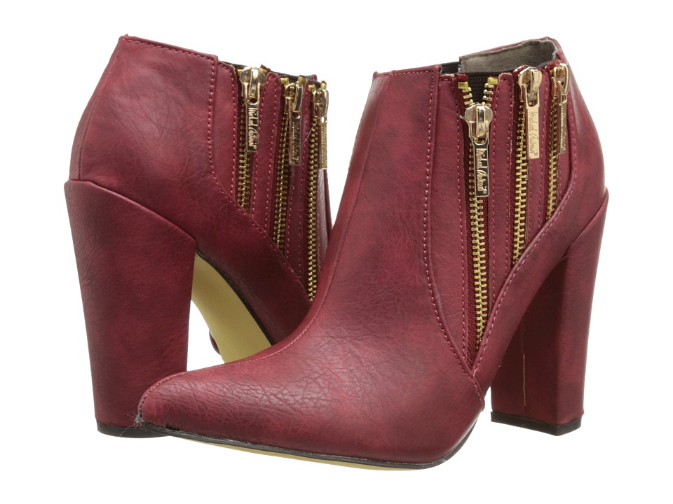 Michael Antonio - Joelle (Red) Women's Zip Boots