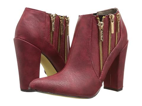 Michael Antonio - Joelle (Red) Women's Zip Boots