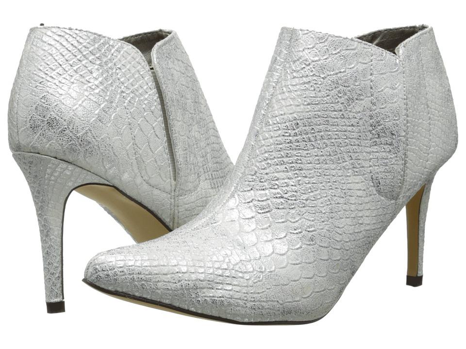 Michael Antonio - Juliet-Snake (White) Women's Dress Pull-on Boots