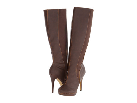 Michael Antonio - Hadiya-Wide Calf (Brown) Women's Wide Shaft Boots