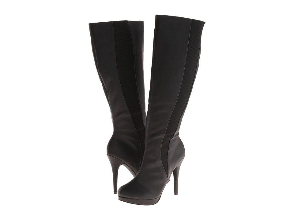 Michael Antonio - Hadiya-Wide Calf (Black) Women's Wide Shaft Boots