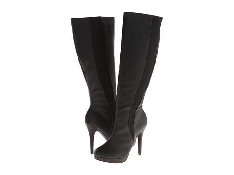 Michael Antonio - Hadiya-Wide Calf (Black) Women's Wide Shaft Boots