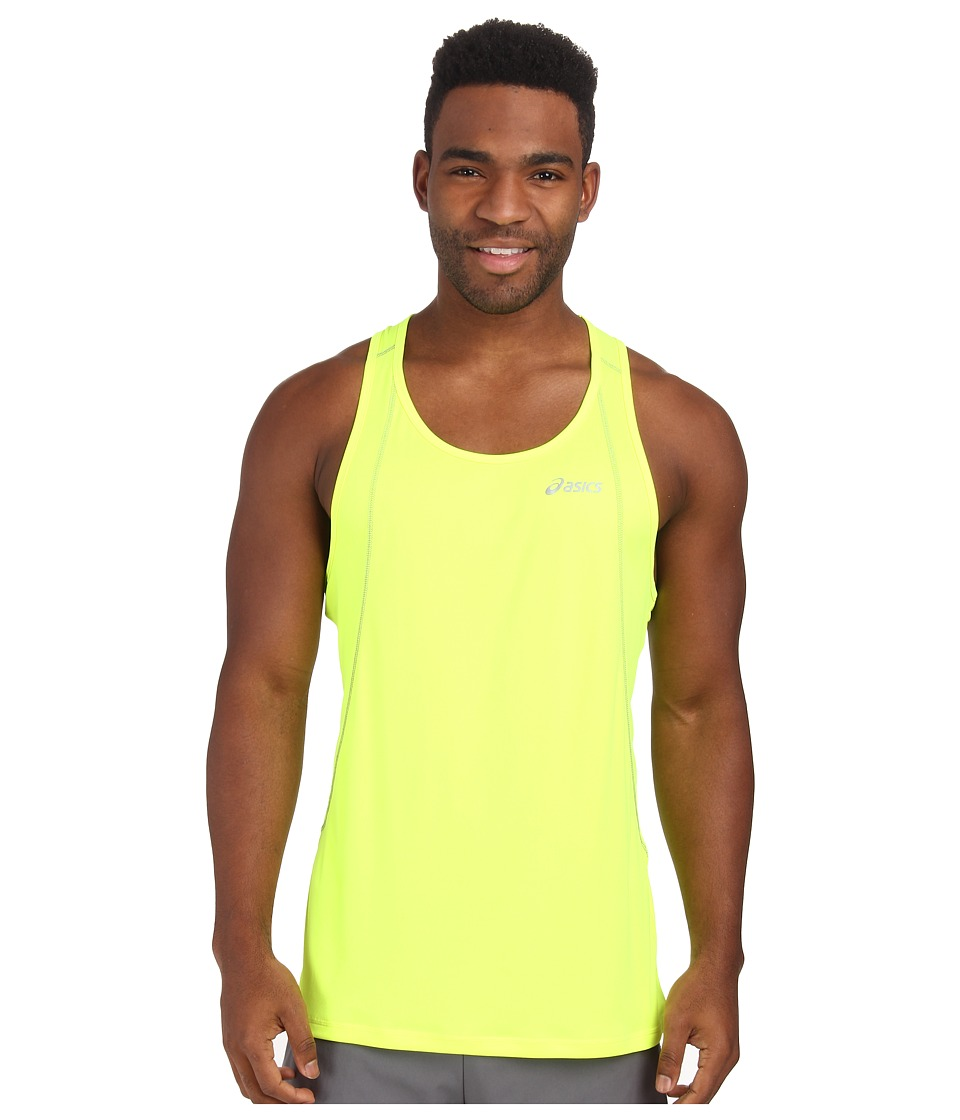 ASICS - Lite-Show Favorite Singlet (Safety Yellow) Men's Workout