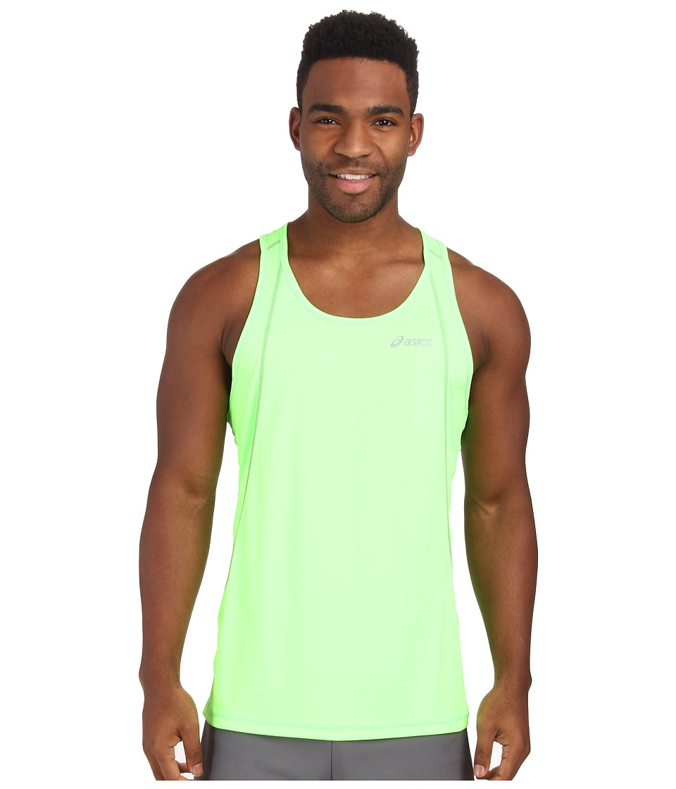 ASICS - Lite-Show Favorite Singlet (Green Gecko) Men's Workout