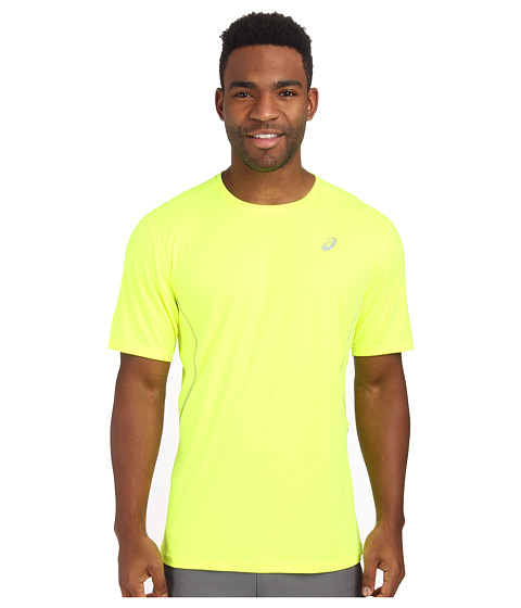 ASICS - Lite-Show Favorite Short Sleeve (Safety Yellow) Men's Workout