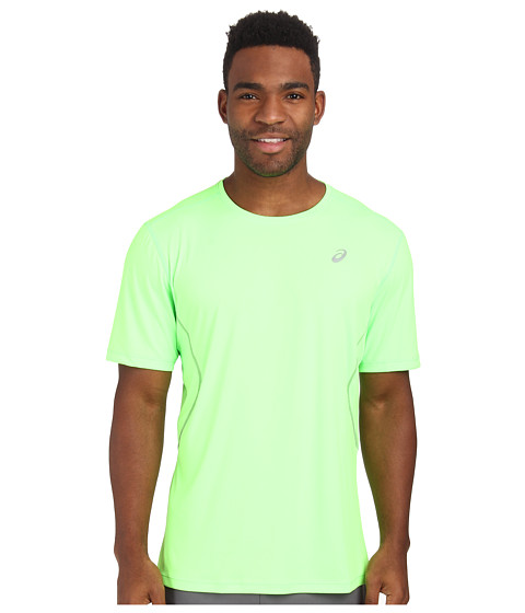 ASICS - Lite-Show Favorite Short Sleeve (Green Gecko) Men's Workout