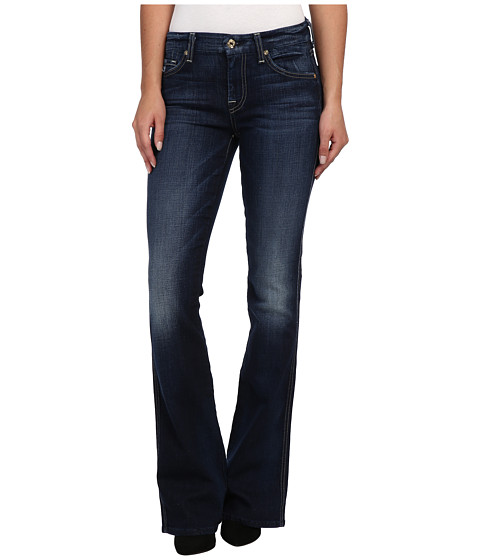 7 For All Mankind - A Pocket in Monarq Blue (Monarq Blue) Women's Jeans