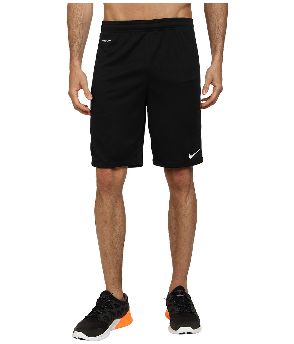 Nike - Academy Longer Knit Short 2 (Black/White/White) Men's Shorts