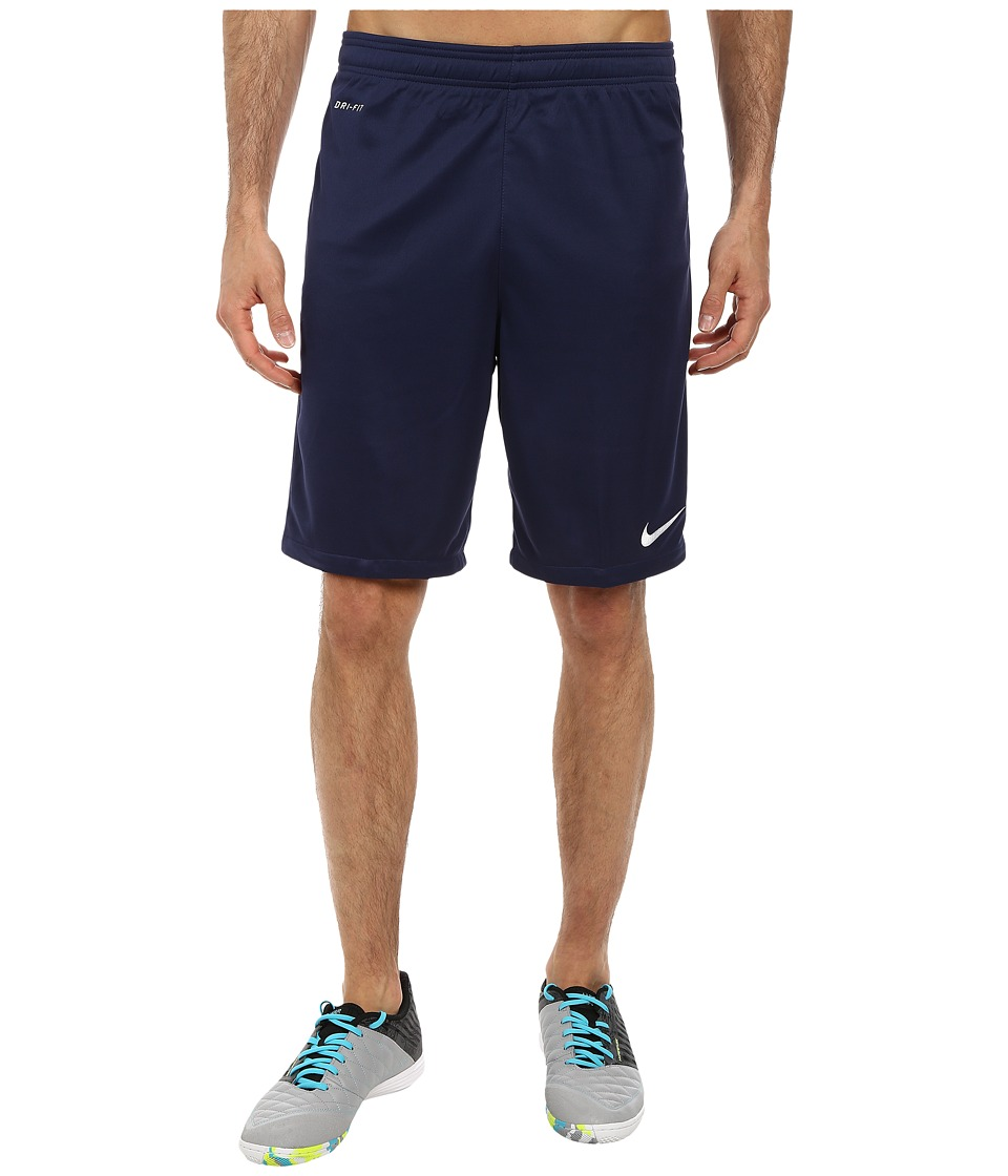 Nike - Academy Longer Knit Short 2 (Midnight Navy/Light Photo Blue/White) Men's Shorts